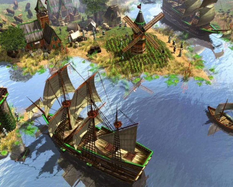Как создать империю в игре третий мир